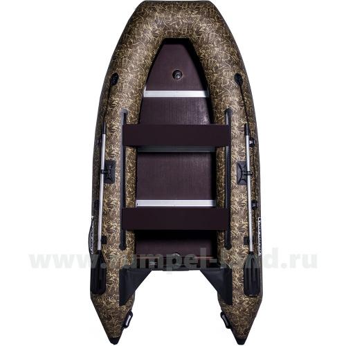 Лодка Омолон (Omolon) SLDK A-340 DP КМФ камуфляж болотистый