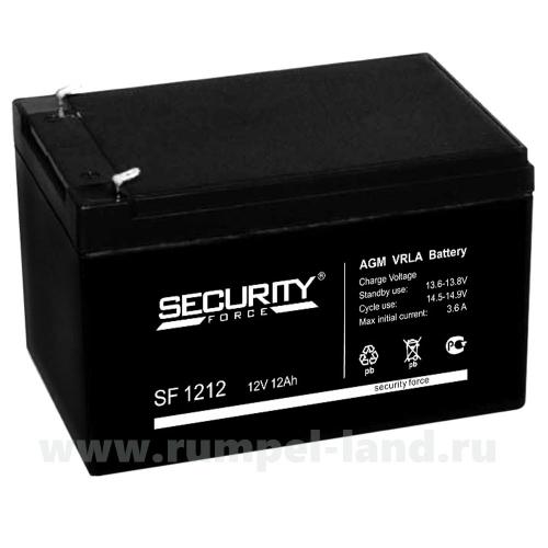 Аккумуляторная батарея Security Force 1212