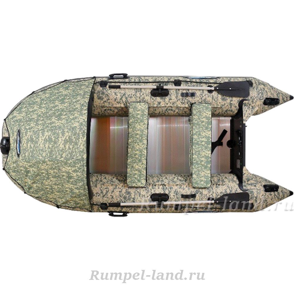 Лодка Gladiator Active С330AL Camo