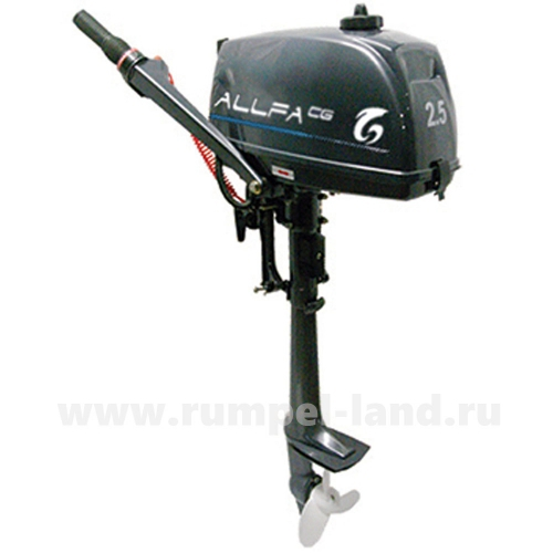 Лодочный мотор Альфа CG T2.5