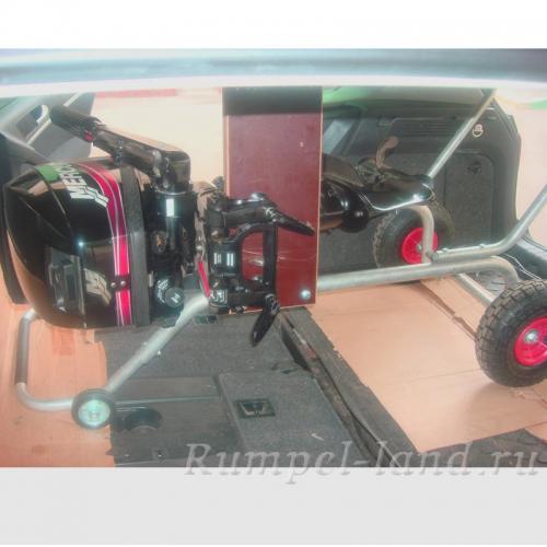 Тележка ТМ-3 для перевозки лодочного мотора