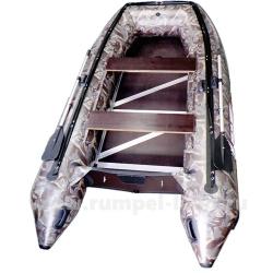 Лодка Polar Bird 340M (Merlin)(«Кречет») (Пайолы из стеклокомпозита) камуфляж