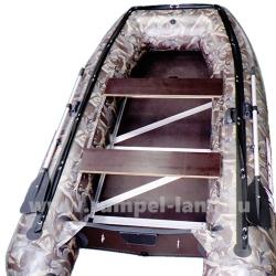 Лодка Полар Берд 320M (Merlin)(«Кречет») (Пайолы из стеклокомпозита) камуфляж