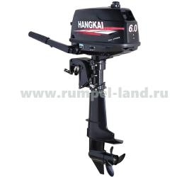 Лодочный мотор Ханкай (Hangkai) 6 HP 2-тактный