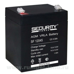 Аккумуляторная батарея 12В 4.5 А∙ч (SF 12045)