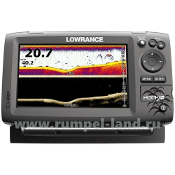 Эхолот Lowrance Hook-7 Mid/High/DownScan™