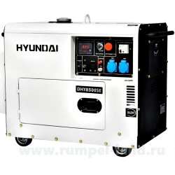 Генератор HYUNDAI DHY 8500SE