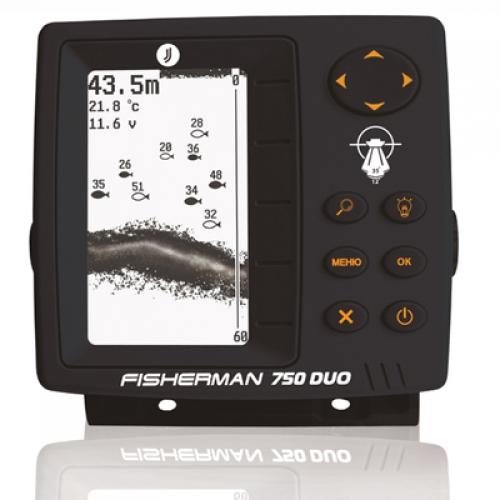 Эхолот Fisherman 750 DUO