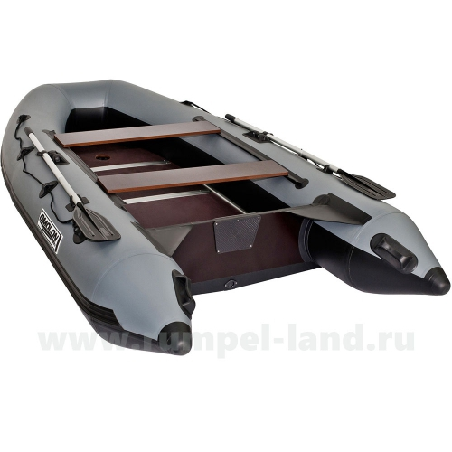 Лодка Омолон (Omolon) SLDK A-320 DP серо-черный