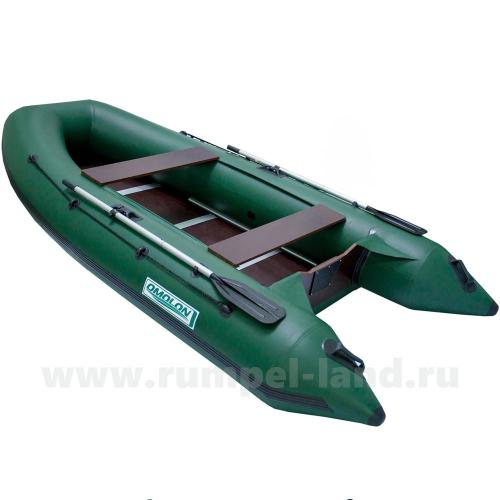 Лодка Омолон (Omolon) SLDK A-320 DP зеленый
