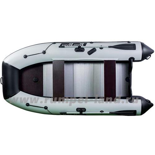 Лодка Ривер Боатс (RiverBoats) 430 Киль + Алюминевый пол