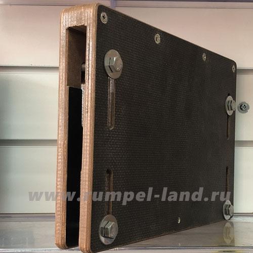 Регулируемая насадка на транец 18 мм.