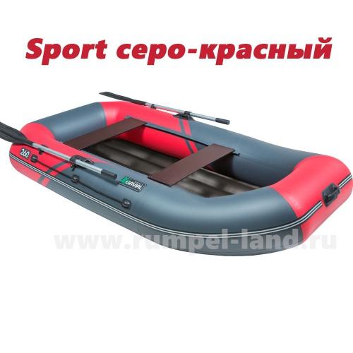 Надувная лодка Пеликан Гавиал 260НД