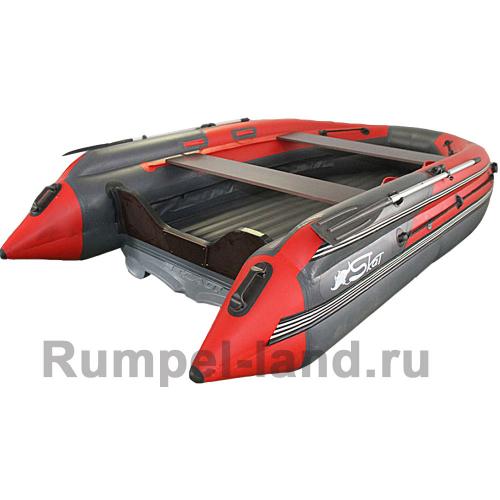 Лодка SKAT-Тритон-400 Fi НД с интегрированным фальшбортом