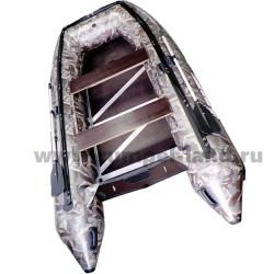 Лодка Полар Берд 385M (Merlin)(«Кречет») (Пайолы из стеклокомпозита) камуфляж