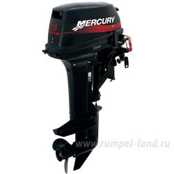 Лодочный мотор Mercury ME 15 M SeaPro 2-тактный