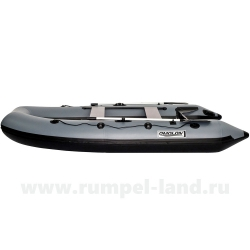 Лодка Омолон (Omolon) SLDK A-340 DP серо-черный