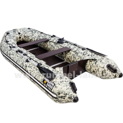 Лодка Ривьера Компакт 3400 СК Камуфляж пиксель