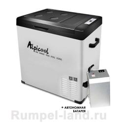 Автохолодильник Alpicool C75 + Батарея