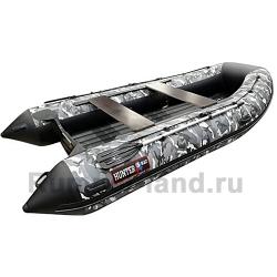 Лодка Хантер 360 А серый КМФ