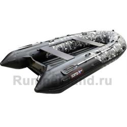 Лодка Хантер 350 ПРО Серый КМФ