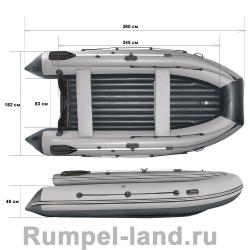 Лодка Reef 360FНД