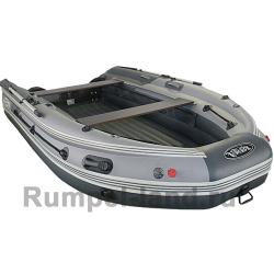 Лодка SKAT-Тритон-390 Fi НД с интегрированным фальшбортом