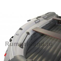 Лодка SKAT-Тритон-370 Fi НД с интегрированным фальшбортом