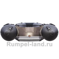 Лодка Таймень NX 3600 НДНД Комби графит/черный