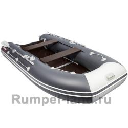 Лодка Таймень LX 3400 СК Графит/светло-серый