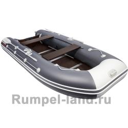 Лодка Таймень LX 3600 СК Графит/светло-серый