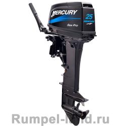 Лодочный мотор Mercury ME 25 M SeaPro 2-тактный