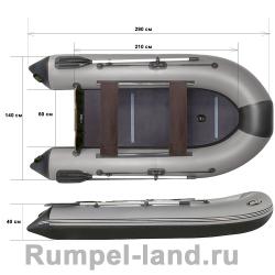 Лодка Reef 290L