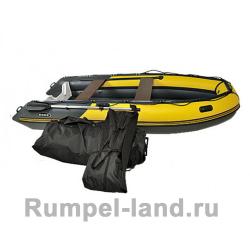 Лодка SKAT-Тритон-390 пластиковый транец