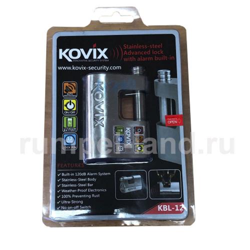 Замок с сигнализацией Kovix KBL 12
